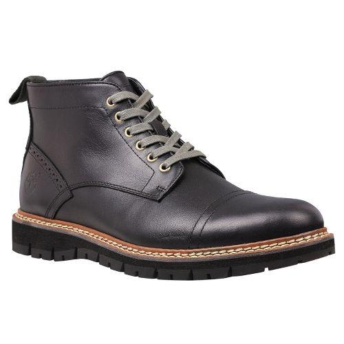 Mens Timberland EK Britton Hill Chukka Casual Shoe - Black Smooth 7.5