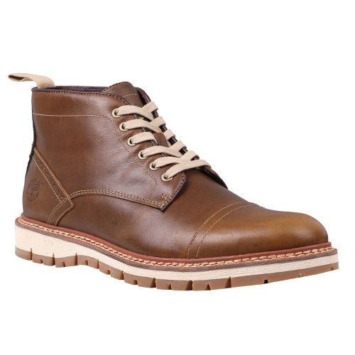 Mens Timberland EK Britton Hill Chukka Casual Shoe - Bronze Smooth 14