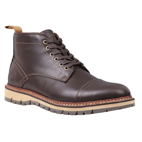 Mens Timberland EK Britton Hill Chukka Casual Shoe - Dark Brown Smooth 12