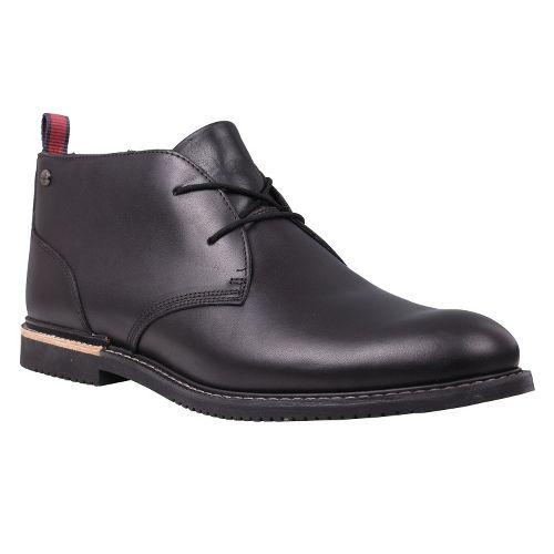 Mens Timberland EK Brook Park Chukka Casual Shoe - Black Smooth 8