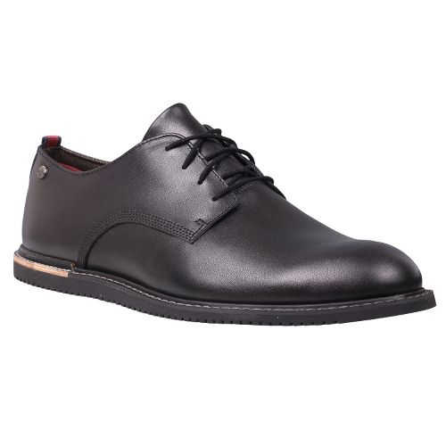 Mens Timberland EK Brook Park Oxford Wedge Casual Shoe - Black Smooth 15
