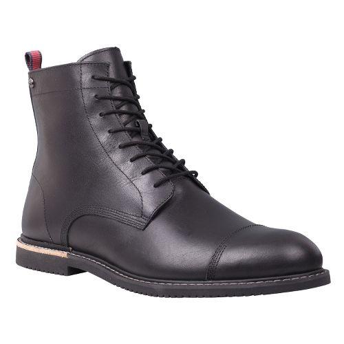 Mens Timberland EK Brook Park Zip Boot Casual Shoe - Black Smooth 15