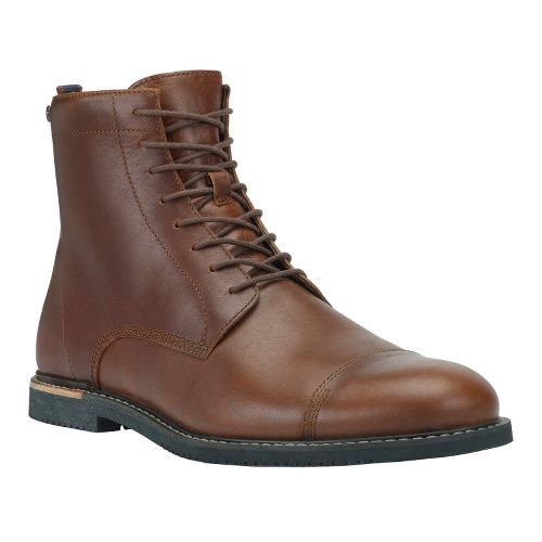 Mens Timberland EK Brook Park Zip Boot Casual Shoe - Red Brown Smooth 13