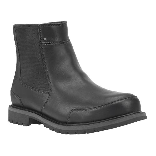 Mens Timberland EK Chestnut Ridge Chelsea Casual Shoe - Black Smooth 7.5