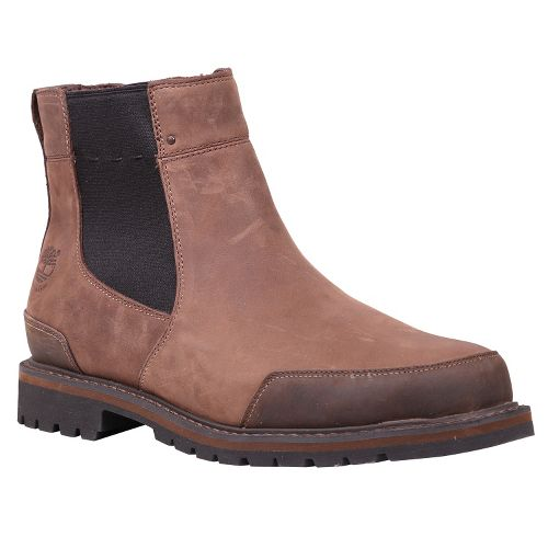 Mens Timberland EK Chestnut Ridge Chelsea Casual Shoe - Dark Brown Oiled 15