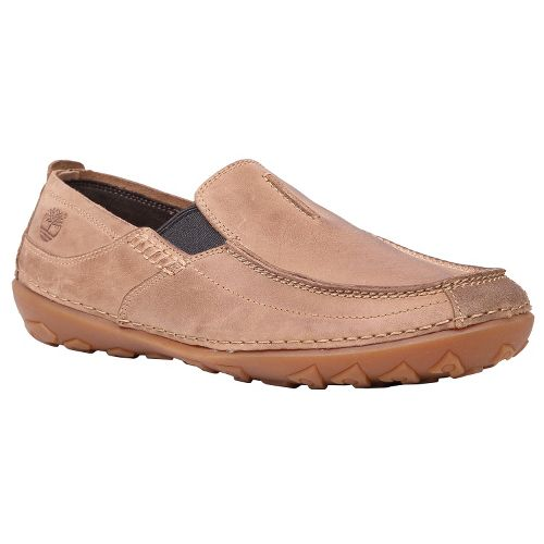 Mens Timberland EK Drumlin Hill Slip-On Casual Shoe - Taupe Oiled 11.5