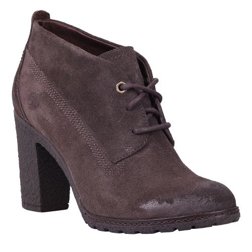 Womens Timberland EK Glancy Chukka Casual Shoe - Dark Brown Suede 6.5
