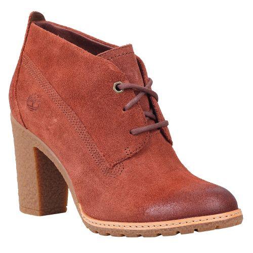 Womens Timberland EK Glancy Chukka Casual Shoe - Glazed Ginger Suede 5.5