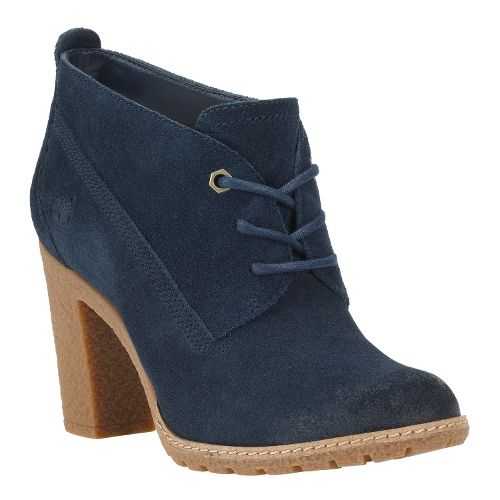 Womens Timberland EK Glancy Chukka Casual Shoe - Navy Suede 10