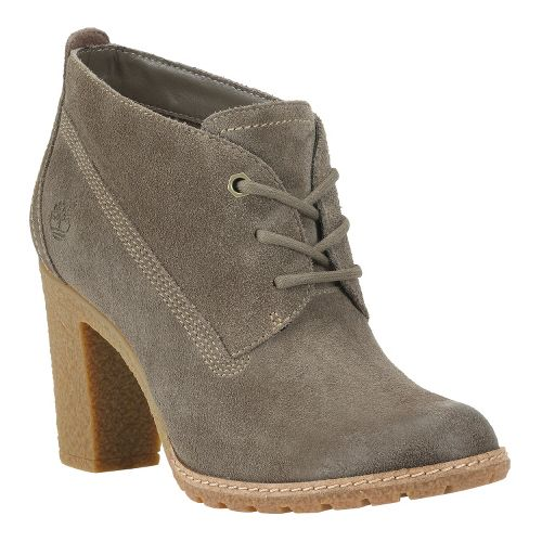 Womens Timberland EK Glancy Chukka Casual Shoe - Warm Grey Suede 10