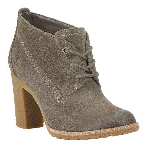 Womens Timberland EK Glancy Chukka Casual Shoe - Warm Grey Suede 7.5