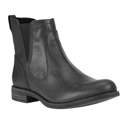 Womens Timberland EK Savin Hill Chelsea Casual Shoe - Black 6