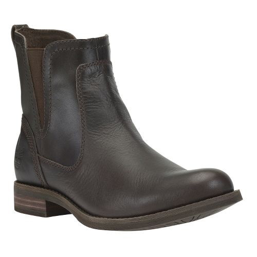 Womens Timberland EK Savin Hill Chelsea Casual Shoe - Dark Brown 6