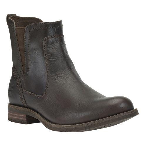 Womens Timberland EK Savin Hill Chelsea Casual Shoe - Dark Brown 9