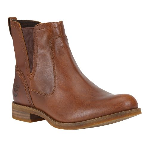 Womens Timberland EK Savin Hill Chelsea Casual Shoe - Glazed Ginger 6