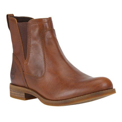 Womens Timberland EK Savin Hill Chelsea Casual Shoe - Glazed Ginger 7