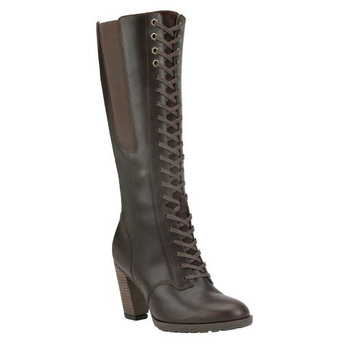 Womens Timberland EK Stratham Heights Casual Shoe - Brown 8.5