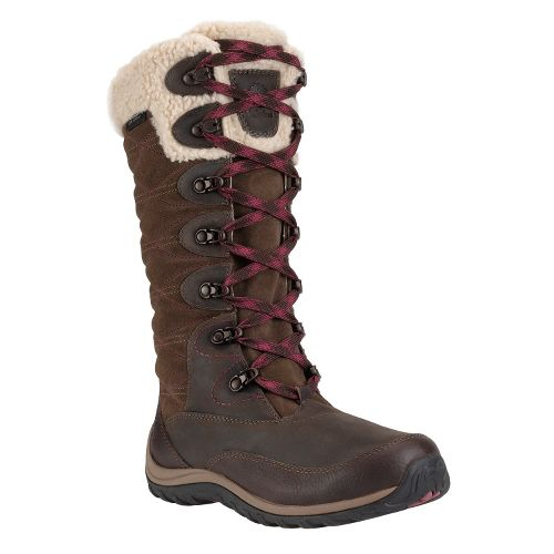 Womens Timberland EK Willowood Insulated Boot Casual Shoe - Dark Brown 7