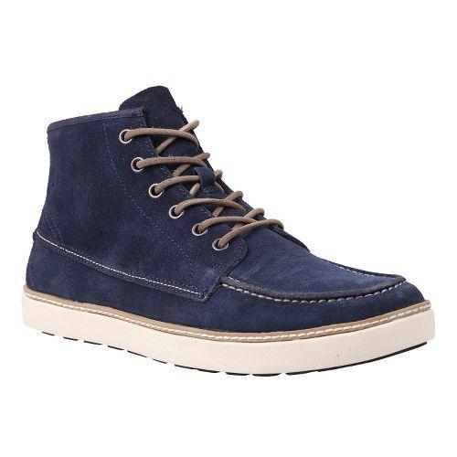 Mens Timberland EK Hudston Casual Shoe - Navy Suede 8.5
