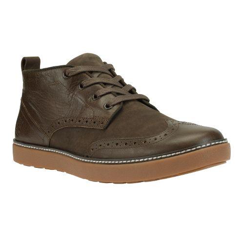 Mens Timberland EK Hudston Brogue Chukka Casual Shoe - Brown Distressed 12
