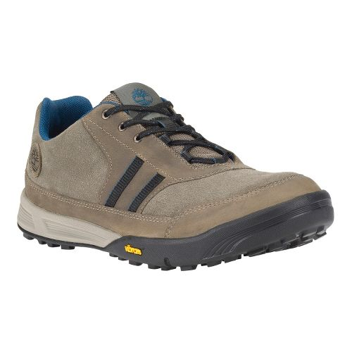 Mens Timberland EK Pembroke Low Leather Casual Shoe - Pewter 12