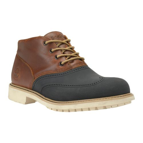 Mens Timberland EK Stormbuck Duck Chukka Casual Shoe - Red Brown 7