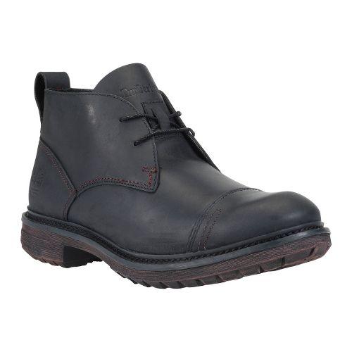 Mens Timberland EK Tremont Chukka Casual Shoe - Black Oiled Leather 7.5