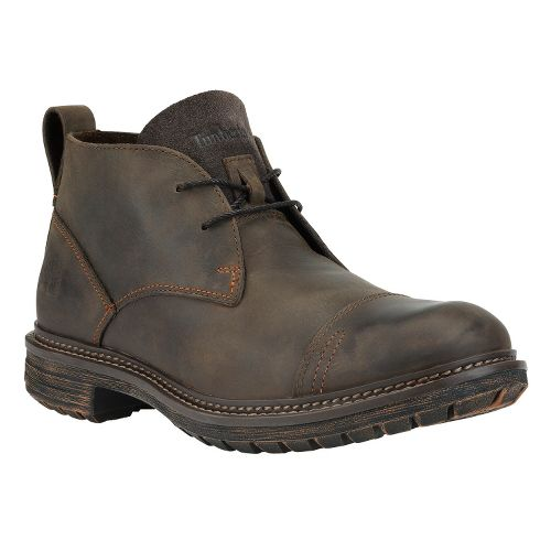 Mens Timberland EK Tremont Chukka Casual Shoe - Dark Brown Oiled 7.5