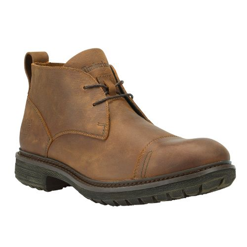 Mens Timberland EK Tremont Chukka Casual Shoe - Red Brown Oiled 7
