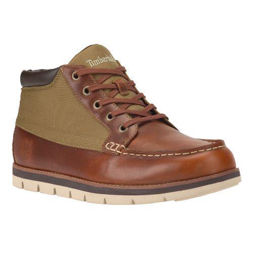 Mens Timberland Harborside Moc Toe Chukka Casual Shoe - Glazed Ginger Cordura 9.5