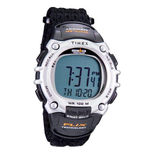 Mens Timex Ironman Flix 100 Lap Watch - Black/Fast