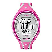 Womens Timex Ironman Sleek 250-Lap with Run Sensor Mid Size Monitors