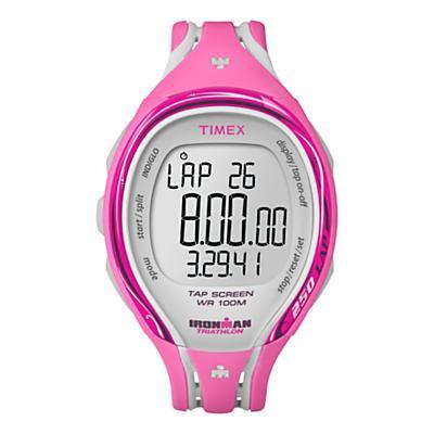 Womens Timex Ironman Sleek 250-Lap TapScreen Mid-Size Monitors