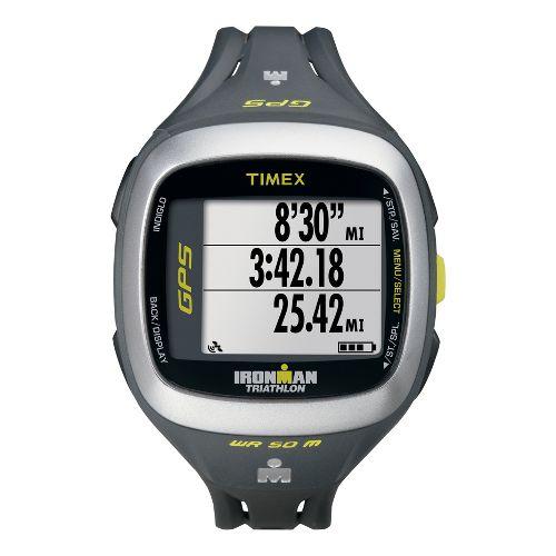 Timex Ironman Run Trainer 2.0 GPS Speed & Distance Monitors - Silver/Green