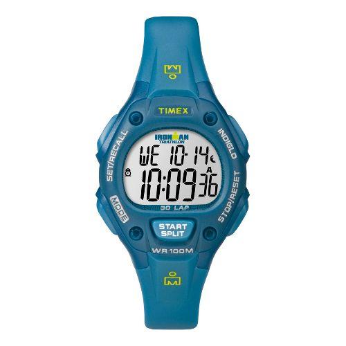 Womens Timex Ironman 30 Lap Monitors - Blue/Teal