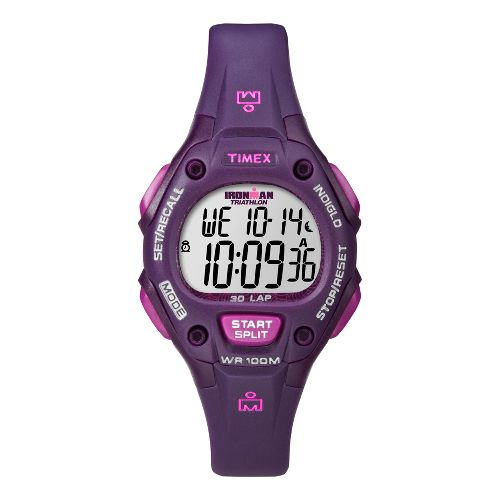Womens Timex Ironman 30 Lap Monitors - Plum
