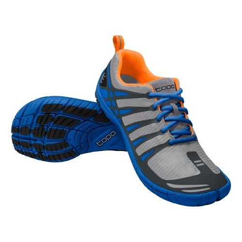 Mens Topo Athletic M-ST Running Shoe - Grey/Blue 8.5