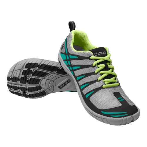 Womens Topo Athletic W-ST Running Shoe - Grey/Jade 9.5