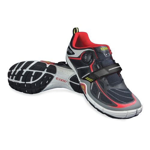 Mens Topo Athletic Sante Cross Training Shoe - Black/Red 8