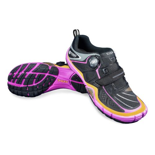 Womens Topo Athletic Sante Cross Training Shoe - Black/Orchid 9.5