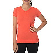Womens Tasc Performance Streets V Short Sleeve Technical Tops