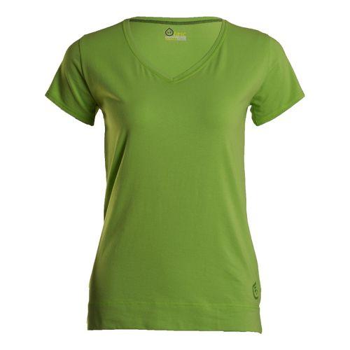 Womens Tasc Performance Streets V Short Sleeve Technical Tops - Parrot XL