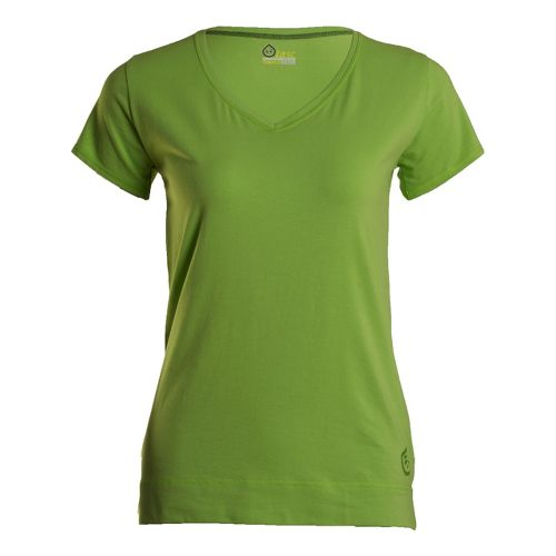 Womens Tasc Performance Streets V Short Sleeve Technical Tops - Parrot XS
