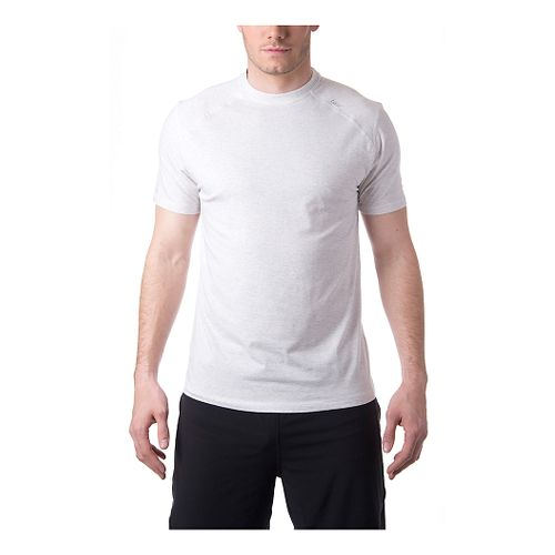 Mens Tasc Performance Carrollton T Short Sleeve Technical Tops - Ash Heather L