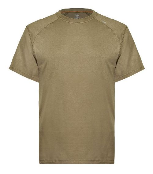 Mens Tasc Performance Carrollton T Short Sleeve Technical Tops - Coyote Brown XXL