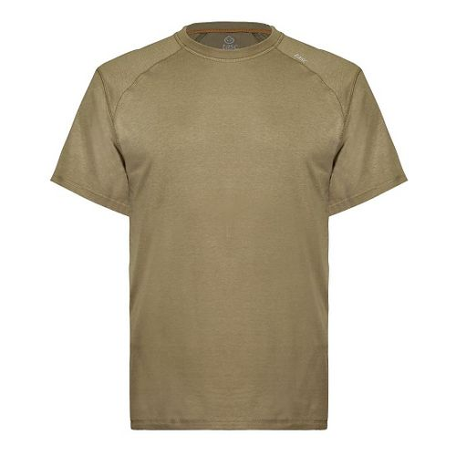 Mens Tasc Performance Carrollton T Short Sleeve Technical Tops - Coyote Brown M