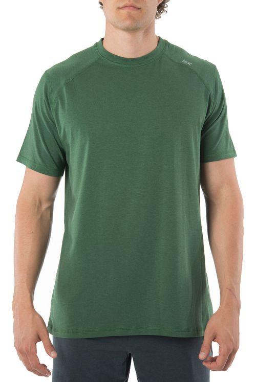 Mens Tasc Performance Carrollton T Short Sleeve Technical Tops - Pine Green M