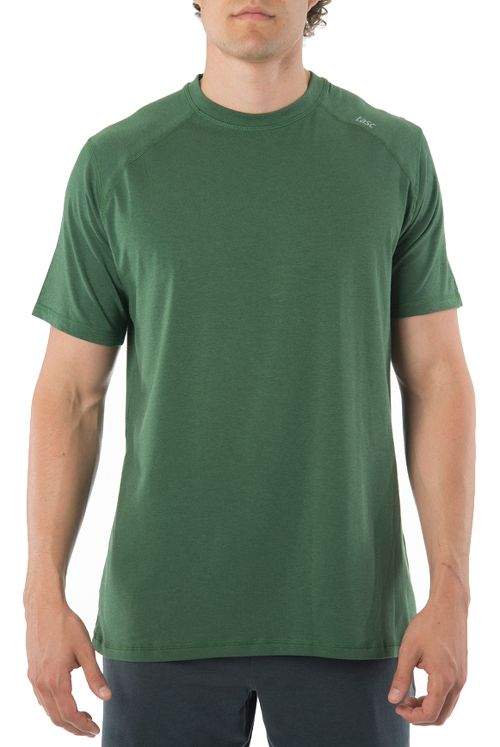 Mens Tasc Performance Carrollton T Short Sleeve Technical Tops - Pine Green S