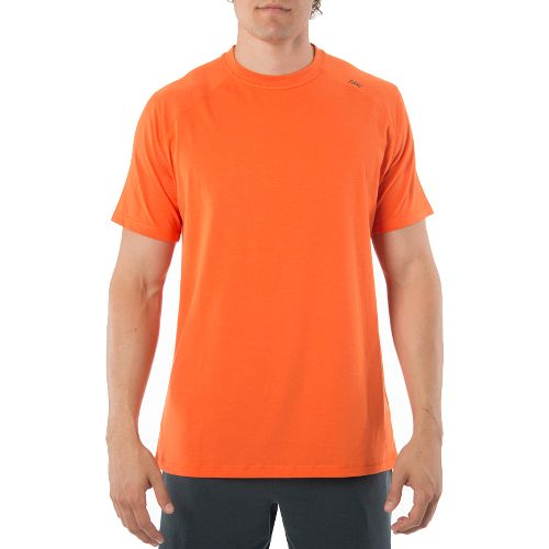Mens Tasc Performance Carrollton T Short Sleeve Technical Tops - Carrot L