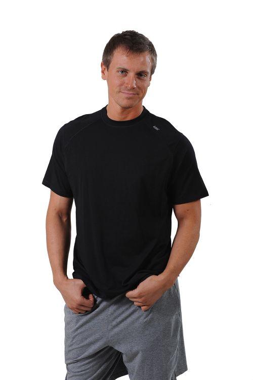 Mens Tasc Performance Carrollton T Short Sleeve Technical Tops - Black XXL
